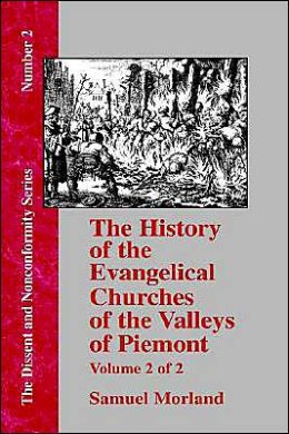 History of the Evangelical Churches of the Valleys of Piemont