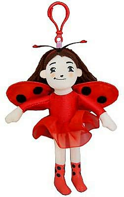 Ladybug Girl Backpack Pull