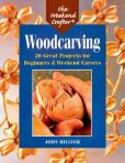 Book Cover Image. Title: The Weekend Crafter�:  Woodcarving: 20 Great Projects for Beginners & Weekend Carvers, Author: John Hillyer