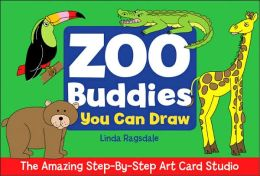 The Amazing Step-By-Step Art Card Studio: Zoo Buddies You Can Draw