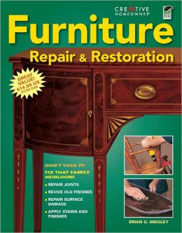 Furniture Repair and Restoration (PagePerfect NOOK Book)