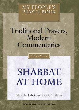 My People's Prayer Book: Shabbat at Home