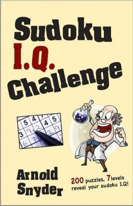 Sudoku I.Q. Challenge