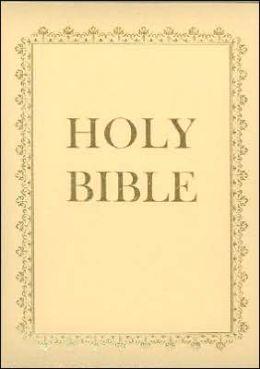 Deluxe Family Bible-KJV-Christian Home Study