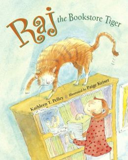 Raj, the Bookstore Tiger