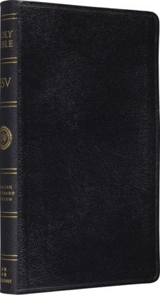ESV Classic Reference Bible: English Standard Version, black genuine leather, black letter edition