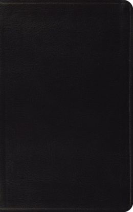 ESV Classic Thinline Bible: English Standard Version, black bonded leather