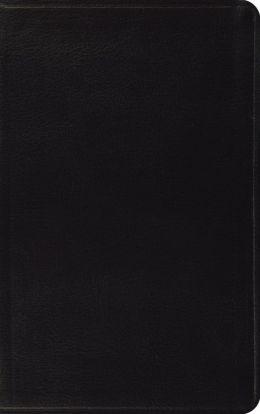 ESV Classic Thinline Bible: English Standard Version, black bonded leather