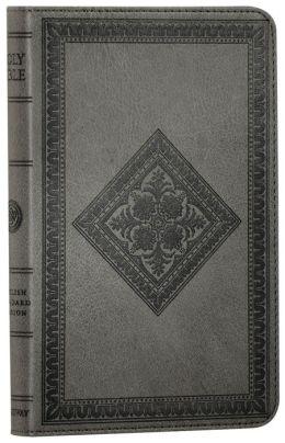ESV Compact TruTone Bible: English Standard Version, gray imitation leather, diamond design