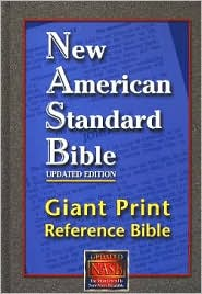 NASB Giant Print Reference Bible: New American Standard Bible Update