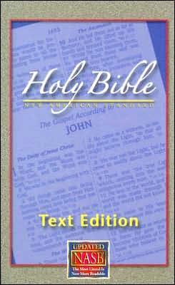 NASB Text Bible: New American Standard Bible Update