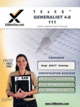 TExES Generalist 4-8 111