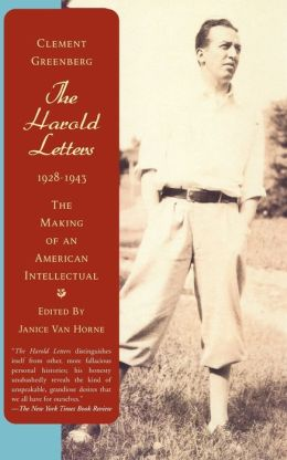 The Harold Letters, 1928-1943: The Making of an American Intellectual