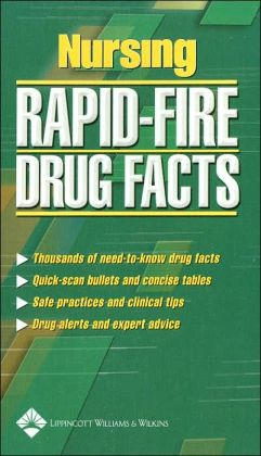 Nursing Rapid-Fire Drug Facts