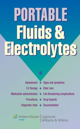 Portable Fluids and Electrolytes