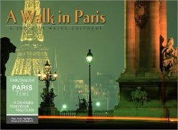 2012 A Walk in Paris Wall Calendar