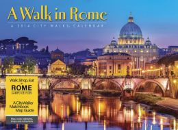 2014 A Walk in Rome Wall Calendar