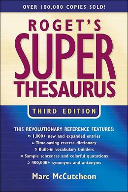 Roget's Superthesaurus