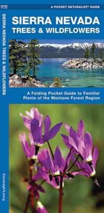 Sierra Nevada Trees & Wildflowers: A Folding Pocket Guide to Familiar Montane Forest Species