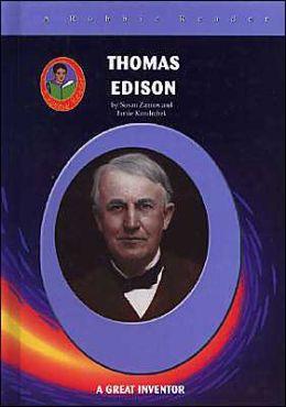 Thomas Edison: A Great Inventor (Robbie Reader Series)