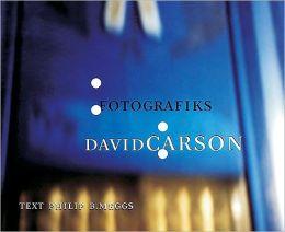 Fotographiks - David Carson (Hc)