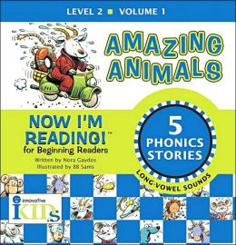 Now I'm Reading!: Amazing Animals - Volume 1: Level 2