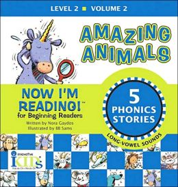 Now I'm Reading!: Amazing Animals - Volume 2