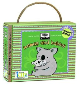 Green Start: Mamas and Babies (Book and Game) - Made With 98% Rec ycled Materials