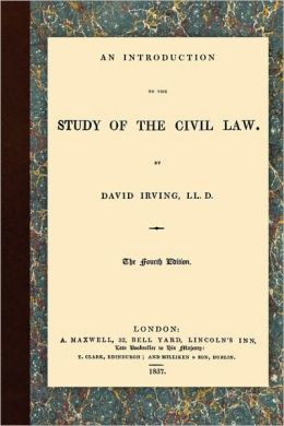 An Introduction To The Study Of The Civil Law