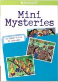 Book Cover Image. Title: Mini Mysteries:  20 Tricky Tales to Untangle (American Girl Library Series), Author: Rick Walton