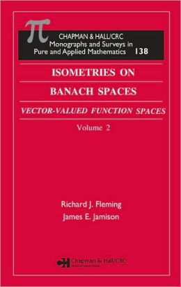 Isometries on Banach Spaces: Vector-Valued Function Spaces and Operator Spaces