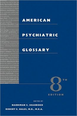 American Psychiatric Glossary
