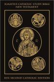 Book Cover Image. Title: Ignatius Catholic Study Bible:  New Testament, Author: Scott Hahn