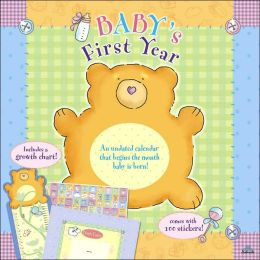 2006 Baby's First Year (Undated) Wall Calendar