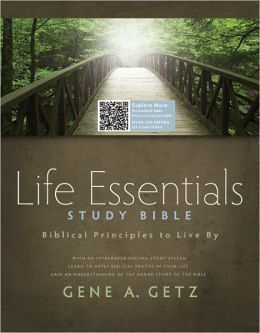 Life Essentials Study Bible, Brown/Green LeatherTlouch Indexed: Biblical Principles to Live By