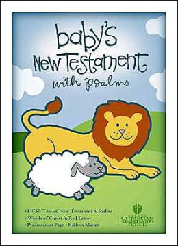 HCSB Baby's New Testament with Psalms, White Imitation Leather