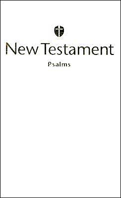 HCSB Economy New Testament with Psalms, White Trade Paper