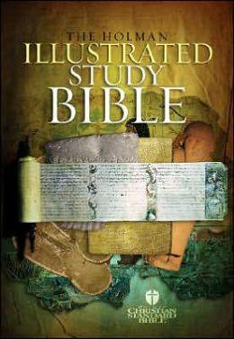 The Holman Illustrated Study Bible: Holman Christian Standard Bible (HCSB), Black Bonded Leather