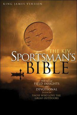 KJV Sportsman's Bible, Tan LeatherTouch