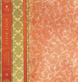 HCSB Interactive Notetaker's Bible, Orange Hardcover