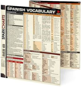 Spanish Vocabulary (SparkCharts)