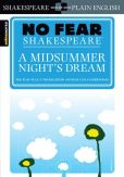 Book Cover Image. Title: A Midsummer Night's Dream (No Fear Shakespeare Series), Author: SparkNotes Editors