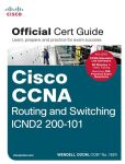 Book Cover Image. Title: Cisco CCNA Routing and Switching ICND2 200-101 Official Cert Guide, Author: Wendell Odom