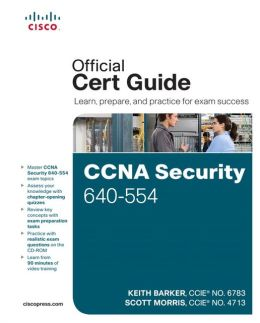 CCNA Security 640-554 Official Cert Guide