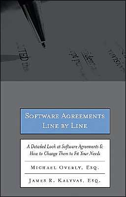 Download ebook free ipad Software Agreements Line by Line: How to Understand and Change Software Licenses and Contracts to Fit Your Needs