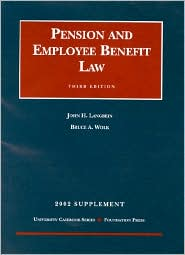 Pension and Employee Benefit Law; 2002 Supplement