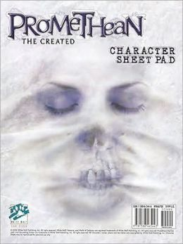 Promethean Character Sheet Pad