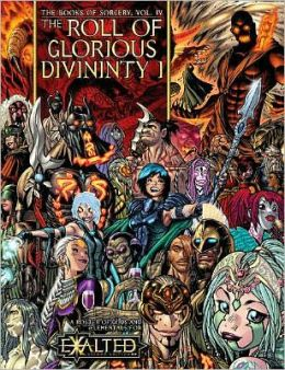 Book of Sorcery 4 - The Roll of Glorious Divinity 1: Gods and Elementals