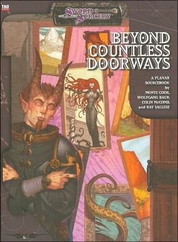 Beyond Countless Doorways : A d20 Book of Planes