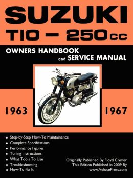 Suzuki T10 1963-1967 Factory Workshop Manual